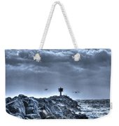 In The Jetty Moss Landing Monterey County  Weekender Tote Bag