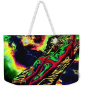 In The Kaleidoscopic Clutches Of Books Weekender Tote Bag