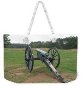 In The Line Of Fire - Manassas Battlefield Weekender Tote Bag