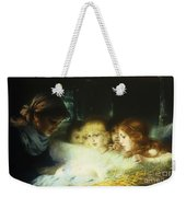 In The Manger Weekender Tote Bag by Hugo Havenith