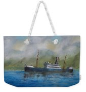 In The Mists Of Martinique Weekender Tote Bag