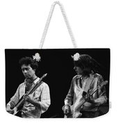 In The Moment With Bad Company 1977 Weekender Tote Bag