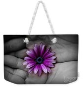 In The Palm Of My Hand Weekender Tote Bag