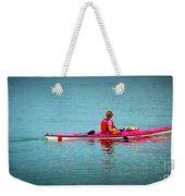 In The Pink Kayaker Weekender Tote Bag