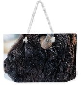 In The Presence Of  Bison - 6 Weekender Tote Bag