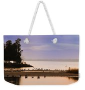 In The Quiet Morning Weekender Tote Bag