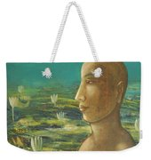 In The Realm Of Buddha Weekender Tote Bag