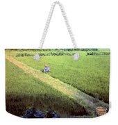 In The Rice Fields Weekender Tote Bag