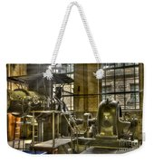 In The Ship-lift Engine Room Weekender Tote Bag