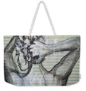 In The Shower 2- Portrait Of A Woman Weekender Tote Bag