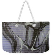 In The Shower - Portrait Of A Woman Weekender Tote Bag