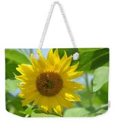In The Sunflower Field Weekender Tote Bag