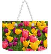 In The Tulip Garden Weekender Tote Bag