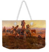 In The Wake Of The Buffalo Hunters Weekender Tote Bag