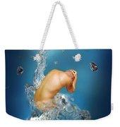 In The Water Weekender Tote Bag by Mark Ashkenazi
