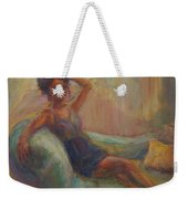 In The Window Light Weekender Tote Bag by Quin Sweetman