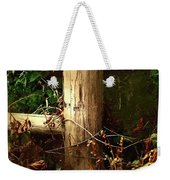 In The Woods By The River Weekender Tote Bag