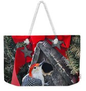 In Time For Christmas Weekender Tote Bag