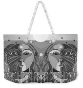 In Unity And Harmony In Grayscale Weekender Tote Bag