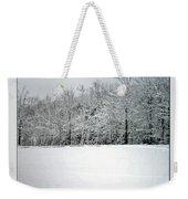 In Winter's Light Weekender Tote Bag