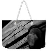 In Wood Weekender Tote Bag