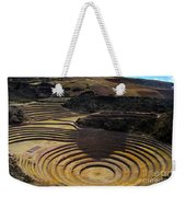 Inca Crop Circles At Moray Weekender Tote Bag