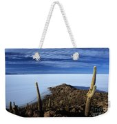 Incahuasi Island And Salar De Uyuni Weekender Tote Bag