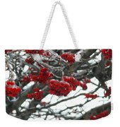 Incased Berries Weekender Tote Bag