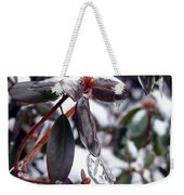 Incased In Ice Weekender Tote Bag