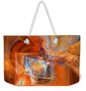 Incendiary Ammunition Abstract Weekender Tote Bag