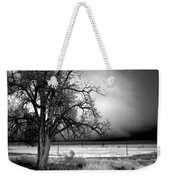 Incoming Storm Weekender Tote Bag by Cat Connor