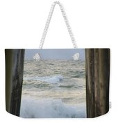Incoming Tide At 32nd Street Pier Avalon New Jersey Weekender Tote Bag