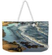 Incoming Waves At Bandon Beach Oregon Weekender Tote Bag