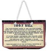 Independent Order Weekender Tote Bag