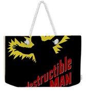 Indestructible Birthday Card Weekender Tote Bag