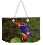 India Three Toed Kingfisher Weekender Tote Bag