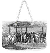 India Train Station, 1854 Weekender Tote Bag