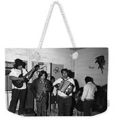Indian Bar The Lucky Dollar  Tohono O'odham Chicken Scratch Band South Tucson Arizona 1975 Weekender Tote Bag