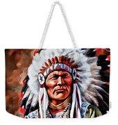 Indian Chief Weekender Tote Bag