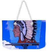 Indian Chief Sign Weekender Tote Bag