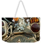 Indian Chopper Taillight Weekender Tote Bag by Jill Reger