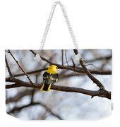 Indian Golden Oriole Weekender Tote Bag