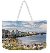 Indian Harbour Weekender Tote Bag by Gene Healy