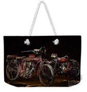 Indian Hedstrom And Powerplus Weekender Tote Bag