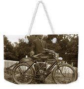 Indian Camelback Motorcycle Circa 1908 Weekender Tote Bag
