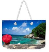 Indian Ocean Moyenne Island Seychelles Weekender Tote Bag