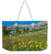Indian Peaks Wildflower Meadow Weekender Tote Bag
