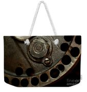 Indian Racer Crankshaft Fly Wheel Weekender Tote Bag