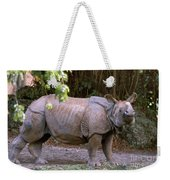 Indian Rhinoceros Weekender Tote Bag