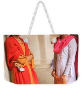 Indian Sewing Students Weekender Tote Bag